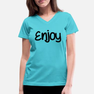 Enjoi Enjoy - Women's V-Neck T-Shirt
