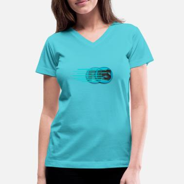 Perfect Speed - Women's V-Neck T-Shirt