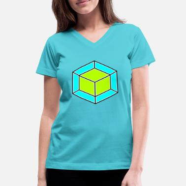 Dice dice - Women's V-Neck T-Shirt