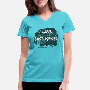 Lost Place Lost Places - Urbex - Women's V-Neck T-Shirt