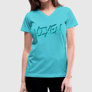 Vixen Design Vixen - Women's V-Neck T-Shirt