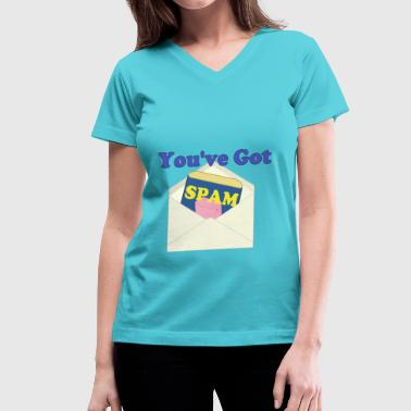 You've Got Spam - Women's V-Neck T-Shirt