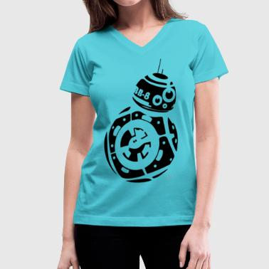 BB8 - Women's V-Neck T-Shirt