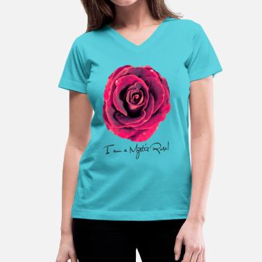 Tantra Sex OshoMysticRose - Women's V-Neck T-Shirt
