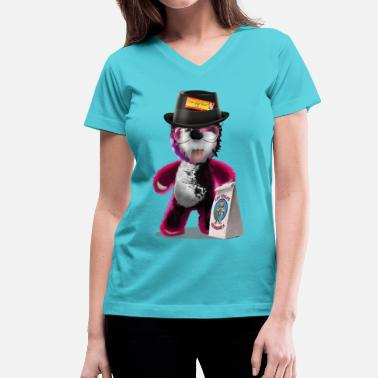 Teddy Freak breaking_bad - Women's V-Neck T-Shirt
