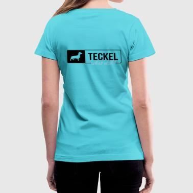 Teckel Teckel what else - Women's V-Neck T-Shirt