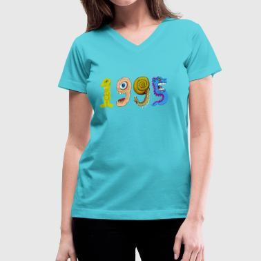 1995 T Shirt - Women's V-Neck T-Shirt
