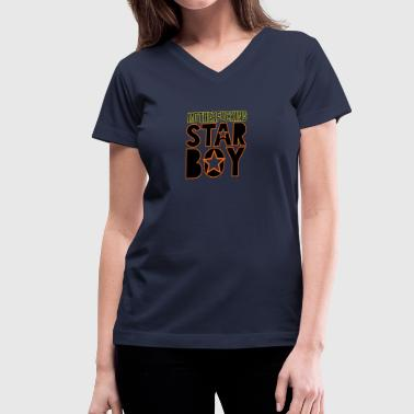 Starboy - Women's V-Neck T-Shirt