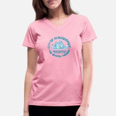 Heisenberg crystal - Women's V-Neck T-Shirt