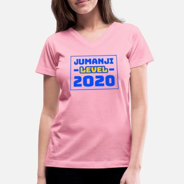 Slow Jumanji Level 2020 - Women's V-Neck T-Shirt