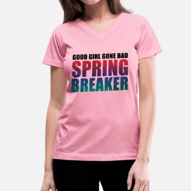 Spring Breakers Spring Breaker 2014 - Women's V-Neck T-Shirt