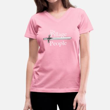 The Pillage People - Women's V-Neck T-Shirt