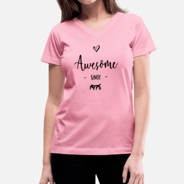 Since 1978 Awesome since 1978 - Women's V-Neck T-Shirt