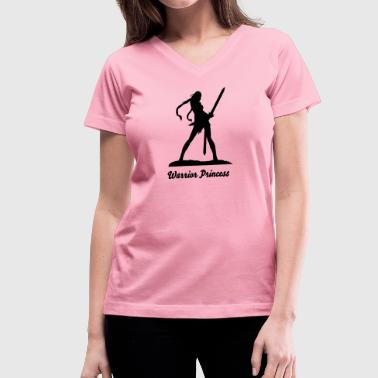 Amazon - Women's V-Neck T-Shirt