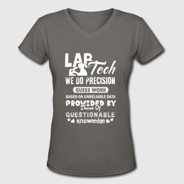 Lab Tech Shirts - Women's V-Neck T-Shirt