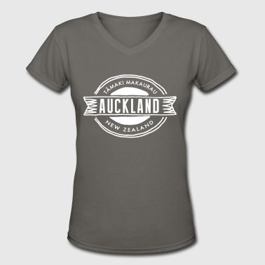 Auckland - Women's V-Neck T-Shirt