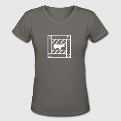 Hippocrate - Women's V-Neck T-Shirt