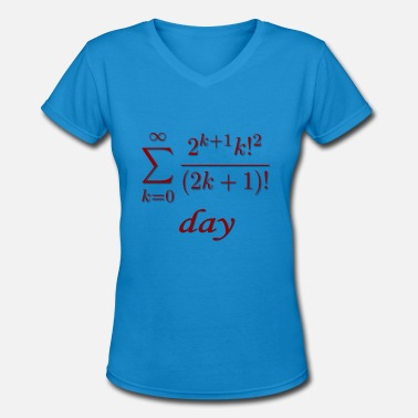 Calculus Pi day! - Women's V-Neck T-Shirt