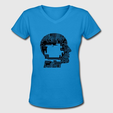 Cranium Cranium - Women's V-Neck T-Shirt