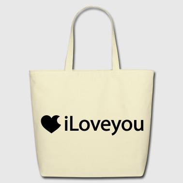 iLoveyou - Eco-Friendly Cotton Tote