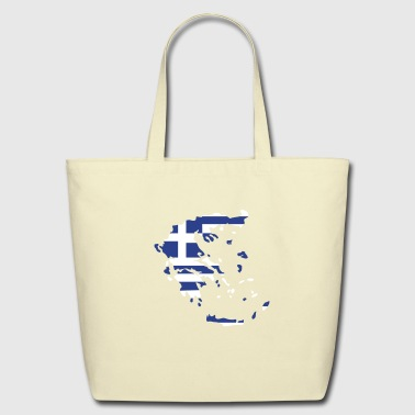 Greece - Eco-Friendly Cotton Tote