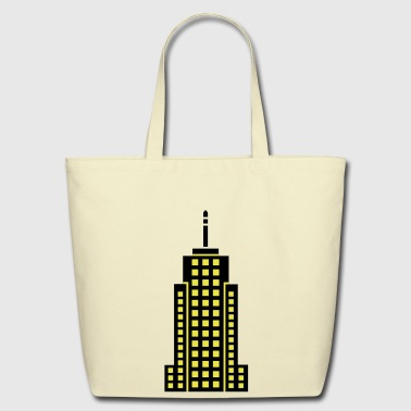 Skyscraper Building - Eco-Friendly Cotton Tote
