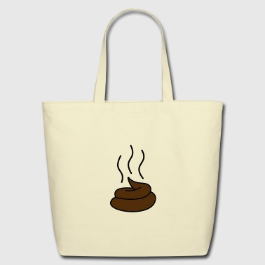 Steaming Turd - Eco-Friendly Cotton Tote