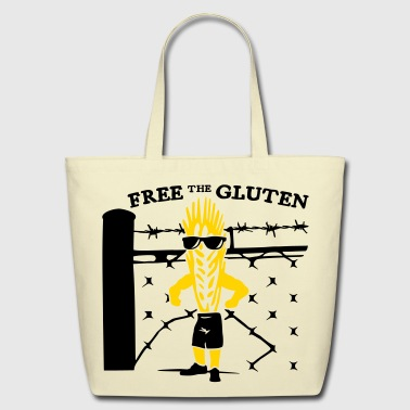 Free the Gluten - Eco-Friendly Cotton Tote