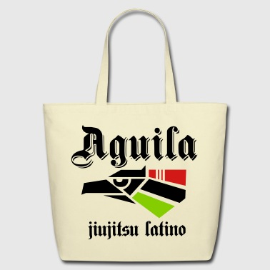 AGUILA JIU JITSU SHIRT - HECHO EN JIUJITSU - Eco-Friendly Cotton Tote