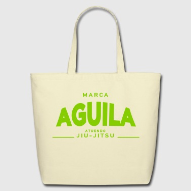 AGUILA BJJ ATUENDO JIUJITSU - Eco-Friendly Cotton Tote