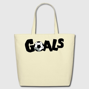 GOALS SOCCER FOOTBALL - Eco-Friendly Cotton Tote