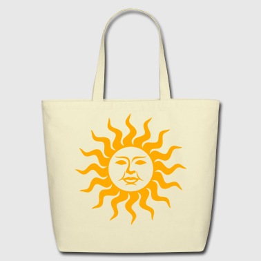 Sun Face - Eco-Friendly Cotton Tote