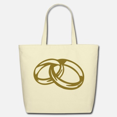 Wedding Wedding Band - Eco-Friendly Cotton Tote