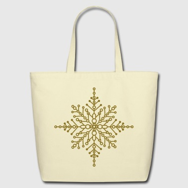 Snow crystal - Eco-Friendly Cotton Tote