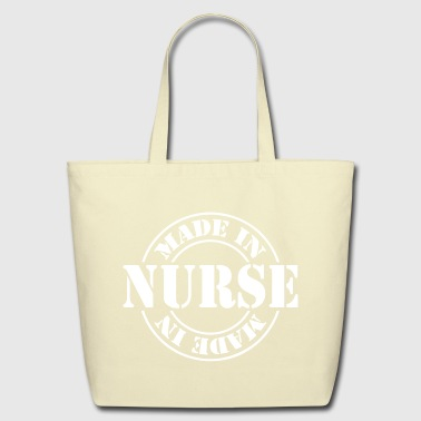 Made_in_nurse_m1 - Eco-Friendly Cotton Tote