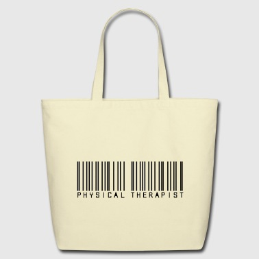Barcode physical therapist - Eco-Friendly Cotton Tote