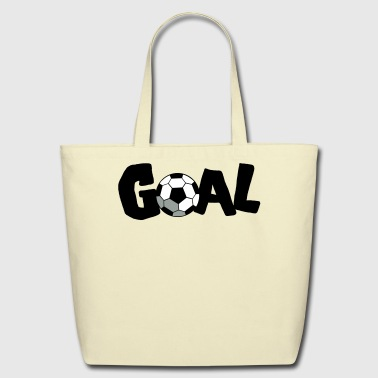 SOCCER GOAL FOOTBALL - Eco-Friendly Cotton Tote