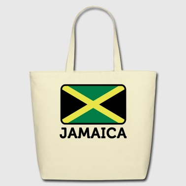 Flag Jamaica 2 (3c)++ - Eco-Friendly Cotton Tote