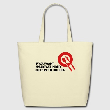 Breakfast In Bed 2 (2c)++ - Eco-Friendly Cotton Tote