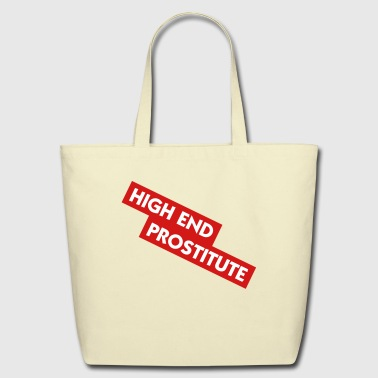 High End Prostitute (2c) - Eco-Friendly Cotton Tote