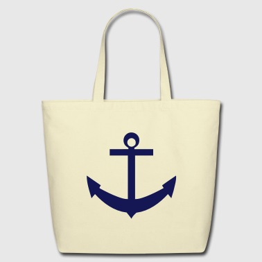 anchor_solid - Eco-Friendly Cotton Tote