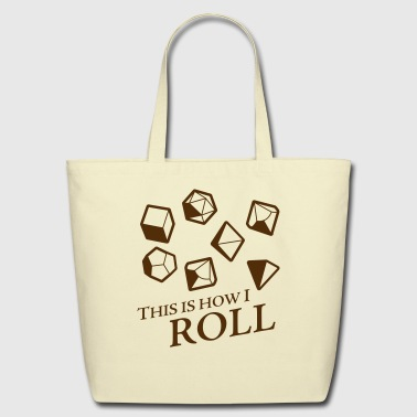 How I Roll Fantasy Dice - Eco-Friendly Cotton Tote