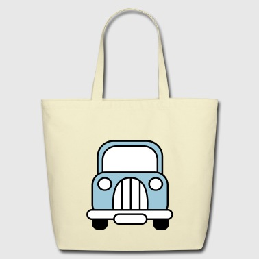 classic car - Eco-Friendly Cotton Tote