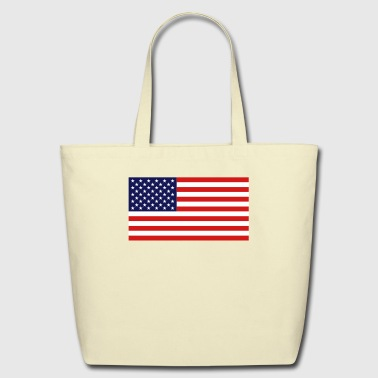 American Flag - Official - Eco-Friendly Cotton Tote