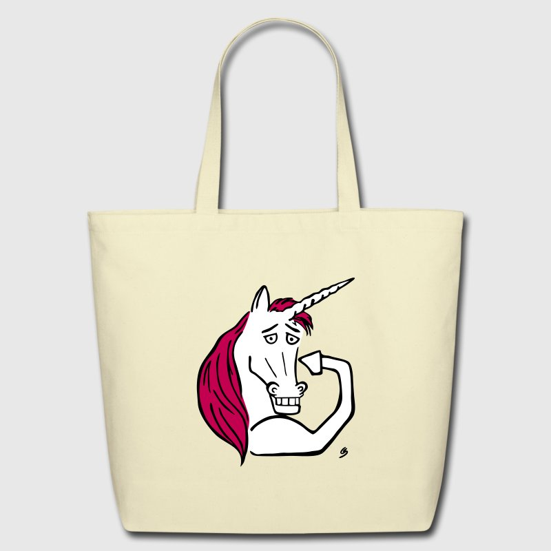 Badass Unicorn - Eco-Friendly Cotton Tote