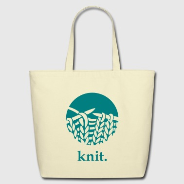 knit. - Eco-Friendly Cotton Tote
