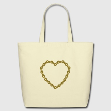 bicycle chain  - Eco-Friendly Cotton Tote