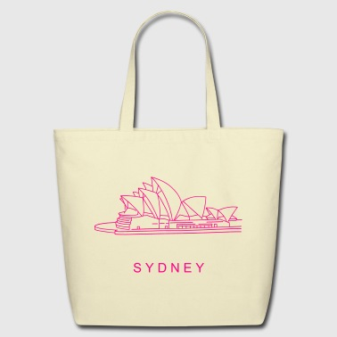 Opera House in Sydney - Eco-Friendly Cotton Tote