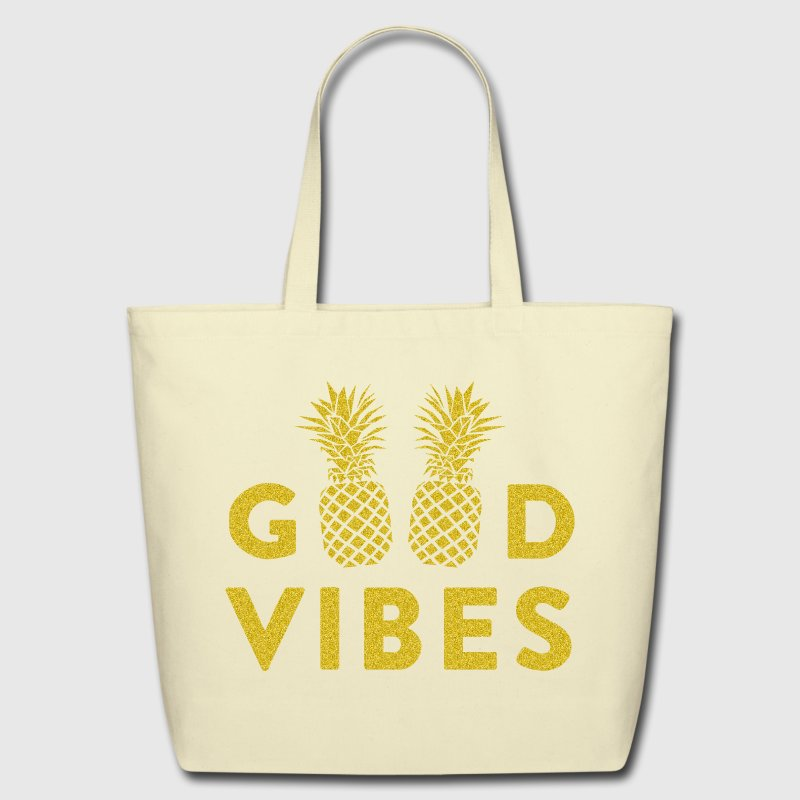 AD GOOD VIBES - Eco-Friendly Cotton Tote