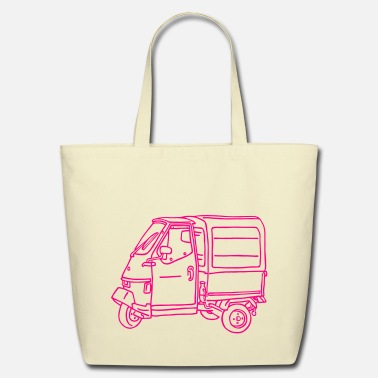 Transport Tricycle Transporter - Eco-Friendly Cotton Tote